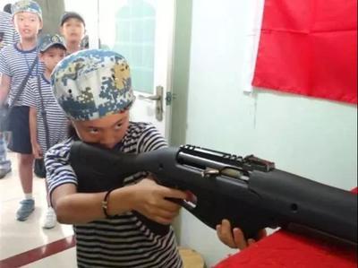 黄埔青少年军事夏令营2
