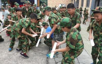 黄埔青少年军事夏令营3