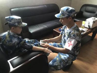 广州中小学生军校夏令营怎么样4